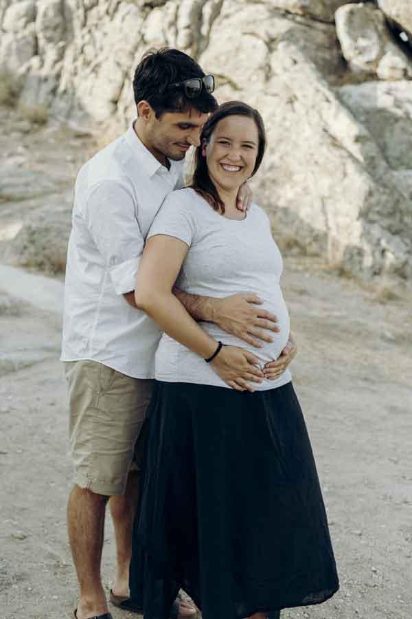 sesion de fotos embarazo madrid